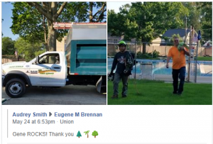 Another Happy Tree Service Customer in Union New Jersey